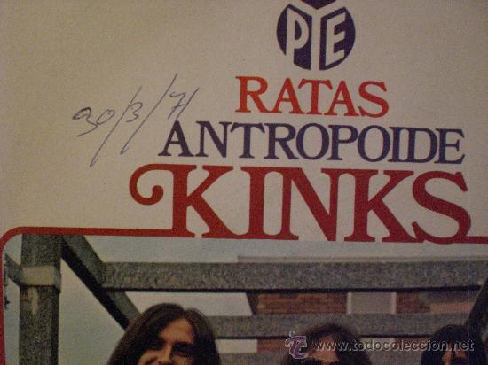 Discos de vinilo: kinks, ratas, single hispavox, 1970, seminuevo ver fotos de portadas - Foto 2 - 29344422