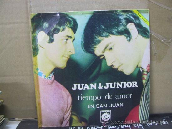 JUAN Y JUNIOR - TIEMPO DE AMOR / EN SAN JUAN - NOVOLA 1968 (Música - Discos - Singles Vinilo - Grupos Españoles 50 y 60)