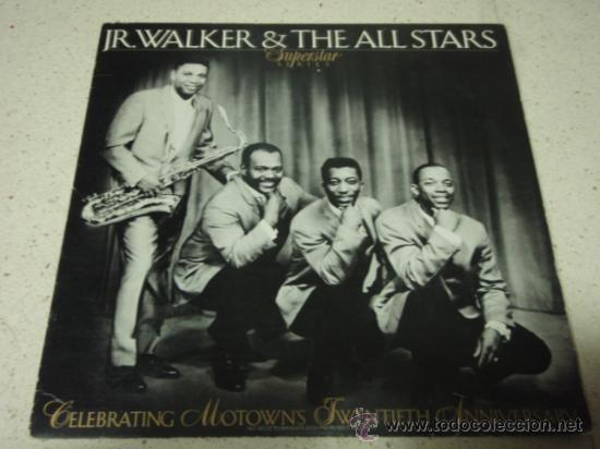 JR. WALKER & THE ALLSTARS ' SUPERSTAR SERIES VOLUME 5 ' CALIFORNIA-USA 1972 LP33 MOTOWN (Música - Discos - LP Vinilo - Funk, Soul y Black Music)