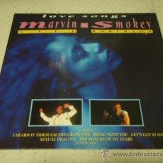 Discos de vinilo: MARVIN GAYE & SMOKEY ROBINSON ' LOVE SONGS ' ENGLAND - 1988 LP33 TELSTAR RECORDS. Lote 29355076