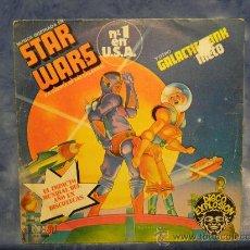 Discos de vinilo: STAR WARS THEME N1 EN USA AÑO 1977 SINGLE 7. Lote 29394716