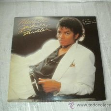 Discos de vinilo: MICHAEL JACKSON - THRILLER ' 1982. Lote 29354795
