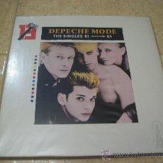 Discos de vinilo: LP DEPECHE MODE - THE SINGLES 81 - 85 - EDICION ESPAÑOLA - 13 HITS - MUTE. Lote 234414535