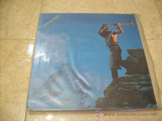 LP DEPECHE MODE - CONSTRUCTION TIME AGAIN - EDICION ESPAÑOLA (Música - Discos - LP Vinilo - Techno, Trance y House)