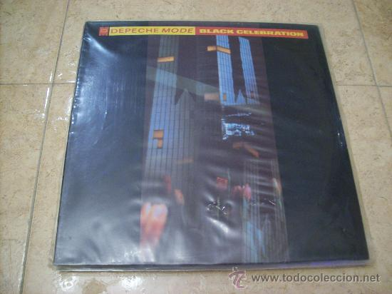 LP DEPECHE MODE - BLACK CELEBRATION - MUTE - EDICION ESPAÑOLA (Música - Discos - LP Vinilo - Techno, Trance y House)