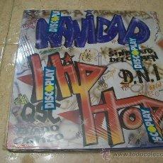 Discos de vinilo: LP NAVIDAD HIP HOP - DNI , ESTADO CRITICO , SINDICATO DEL CRIMEN , QSC , PLAY-BACK. Lote 29359176