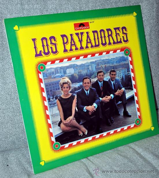 LOS PAYADORES CON GIOVANNA - EDITADO EN ALEMANIA - LP ALBUM VINILO 12' - 12 TEMAS - AÑO 1969 (Música - Discos - LP Vinilo - Grupos Españoles 50 y 60)