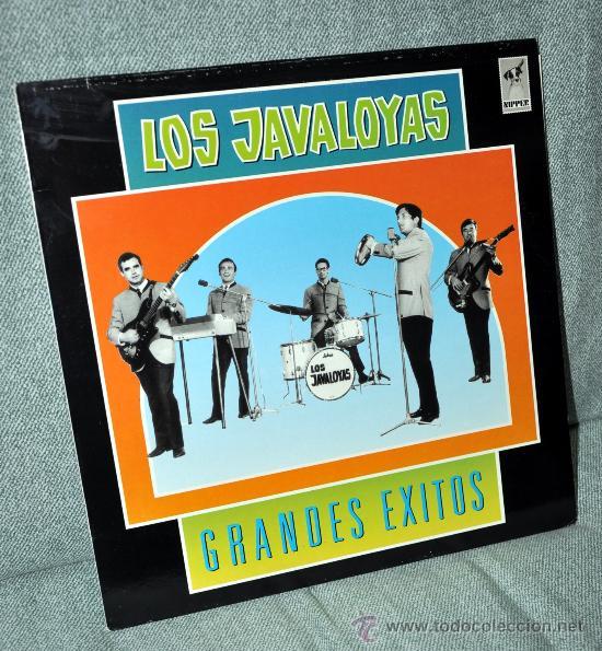 LOS JAVALOYAS - GRANDES ÉXITOS - LP ALBUM - EDITADO EN ESPAÑA - 12 TEMAS - EMI ODEON 1988 (Música - Discos - LP Vinilo - Grupos Españoles 50 y 60)