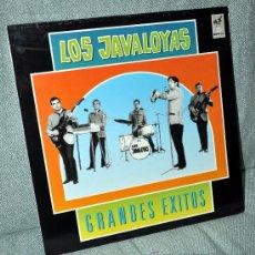 Discos de vinilo: LOS JAVALOYAS - GRANDES ÉXITOS - LP ALBUM - EDITADO EN ESPAÑA - 12 TEMAS - EMI ODEON 1988. Lote 29359201