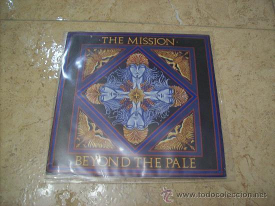 EP THE MISSION - BEYOND THE PALE - GOTHIC ROCK (Música - Discos de Vinilo - EPs - Heavy - Metal)