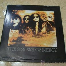 Discos de vinilo: EP THE SISTERS OF MERCY - DOCTOR JEEP - KNOCKING ON HEAVEN'S DOOR - 1990. Lote 29364584