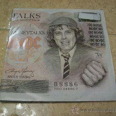 Discos de vinilo: EP ACDC - MONEY TALKS - ANGUS YOUNG. Lote 29364626