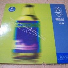 Discos de vinilo: MAXI SINGLE OBK - HISTORIAS DE AMOR - 3 CANCIONES. Lote 29364810