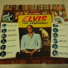 Discos de vinilo: ELVIS PRESLEY ' FOR EVERYONE! ' 1983 - GERMANY LP33 RCA. Lote 29365925