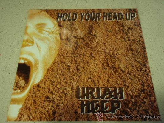URIAH HEEP ( HOLD YOUR HEAD UP EXTENDED 12' MIX + 7' VERSION - MIRACLE CHILD ) ENGLAND-1989 (Música - Discos de Vinilo - Maxi Singles - Heavy - Metal)