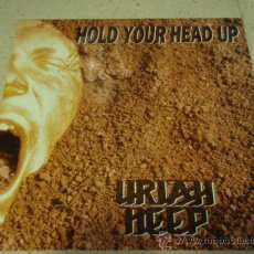 Discos de vinilo: URIAH HEEP ( HOLD YOUR HEAD UP EXTENDED 12' MIX + 7' VERSION - MIRACLE CHILD ) ENGLAND-1989. Lote 29366081