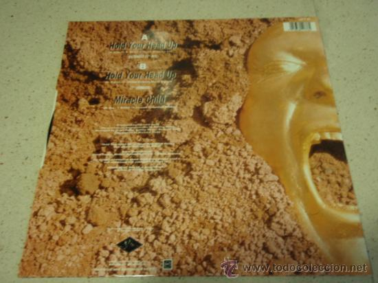 Discos de vinilo: URIAH HEEP ( HOLD YOUR HEAD UP extended 12 mix + 7 version - MIRACLE CHILD ) ENGLAND-1989 - Foto 2 - 29366081