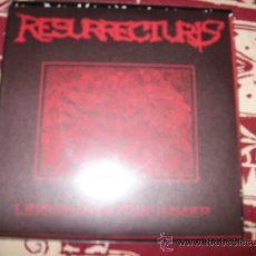Discos de vinilo: SPLIT EP RESURRECTURIS - GRIEF OF GOD - DEATH METAL - NUEVO. Lote 29366538