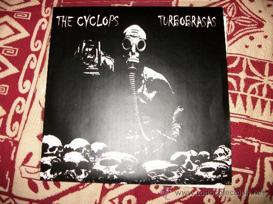 SPLIT EP THE CYCLOPS - TURBOBRASAS - GRIND HARDCORE PUNK -EDICION LIMITADA 103 COPIAS, N. 80-NUEVO (Música - Discos de Vinilo - EPs - Heavy - Metal)