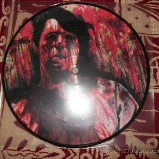 Discos de vinilo: PICTURE EP BLOOD DUSTER - KNEE DEEP IN MENSTRUAL BLOOD , TED , DR. ARTERY , DIRTY PLATTER , NUEVO. Lote 29366594