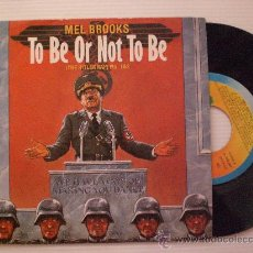Discos de vinilo: BANDA SONORA ORIGINAL BSO TO BE OR NOT TO BE, SINGLE ARIOLA 1983 NUEVO. Lote 29370575