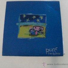 Discos de vinilo: PURE - TANTO PEOR - GEROME NANA 1999 VINILO COLOREADO. Lote 29372686