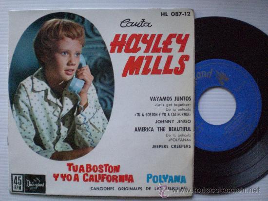 BSO TU A BOSTON Y YO A CALIFORNIA, EP HISPAVOX 1962, NUEVO LIQUIDACION 50% (Música - Discos de Vinilo - EPs - Bandas Sonoras y Actores)