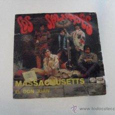 Discos de vinilo: LOS SALVAJES - MASSACHUSETTS 1967. Lote 29374073