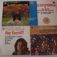 Discos de vinilo: RAY CONNIFF, LOTE 4 EPS. AÑOS 60´, EXCELENTE ESTADO EN LIQUIDACION VER MAS INFORMACION. Lote 29375403