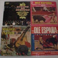Discos de vinilo: LOTE 4 EPS. AÑOS 60 PASODOBLES Y SIMILARES, VER AUTORES Y TITULOS, SEMINUEVOS, TAMBIEN POR SEPARADO. Lote 29376030