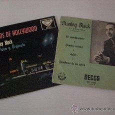 Discos de vinilo: STANLEY CLARK, EXITOS DE HOLLYWOOD, EL CUMBANCHERO, LOTE 2 EPS. AÑOS 50´, EXCELENTE ESTADO. Lote 29376105