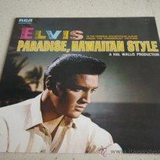 Disques de vinyle: ELVIS PRESLEY IN PARADISE, HAWAIIAN SYLE ' A HALL WALLIS PRODUCTION ' 1983-GERMANY LP33 RCA. Lote 29378760