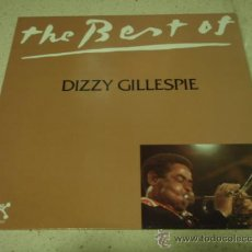 Discos de vinilo: DIZZY GILLESPIE ( THE BEST OF DIZZY GILLESPIE ) 1980 LP33 PABLO RECORDS. Lote 29379189