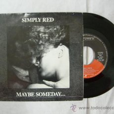 Vinyl records - SINGLE SIMPLY RED - MAYBE SOMEDAY... 1987 WEA - 29394322
