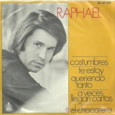 Discos de vinil: RAPHAEL EP SELLO GAMMA EDITADO EN MEXICO . Lote 29379596