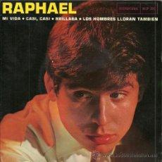 Discos de vinil: RAPHAEL EP SELLO INTERNACIONAL EDITADO EN FRANCIA. Lote 29379647