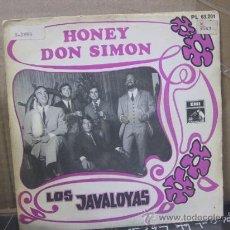 Discos de vinilo: LOS JAVALOYAS - HONEY / DON SIMON - EMI 1968. Lote 29385557