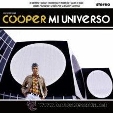 Discos de vinilo: LP COOPER MI UNIVERSO LOS FLECHAZOS MOD. Lote 68193621