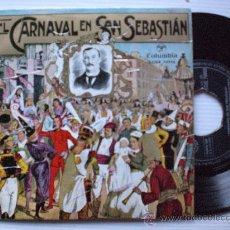 Discos de vinilo: MUSICA DE EUSKADI. EL CARNAVAL DE SAN SEBASTIAN, EP COLUMBIA 1959 SEMINUEVO. Lote 29388437
