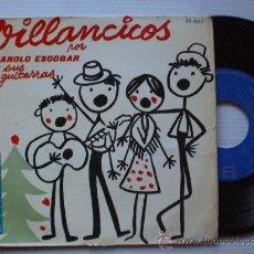 Discos de vinilo: VILLANCICOS MANOLO ESCOBAR, EP BELTER 1959. Lote 117368188