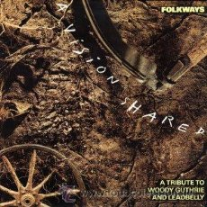 Discos de vinilo: FOLKWAYS - A VISION SHARED - A TRIBUTE TO WOODY GUTHRIE & LEADBELLY - SPRINGSTEEN-SEGER-WILSON. Lote 29390555