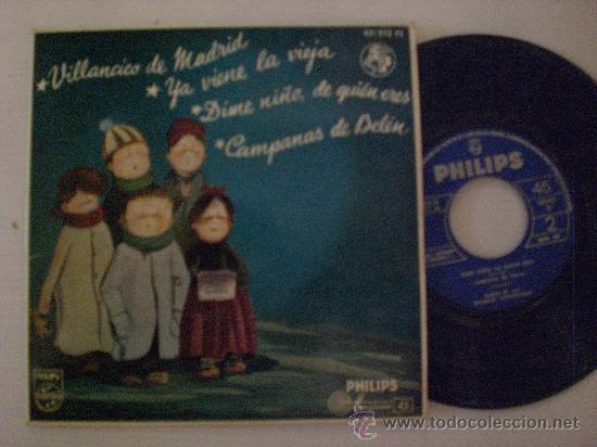 VILLANCICOS COROS ESCUELAS AVEMARIANAS EP PHILIPS 1963, NUEVO (Música - Discos de Vinilo - EPs - Música Infantil)