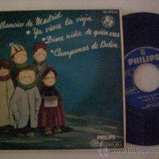Discos de vinilo: VILLANCICOS COROS ESCUELAS AVEMARIANAS EP PHILIPS 1963, NUEVO. Lote 34992688
