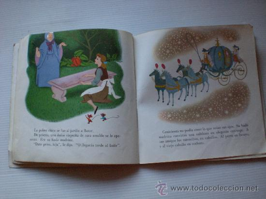 Discos de vinilo: cuentos la cenicienta y pinocho lote 2 disco con libro ilustrado 18 paginas año 1967 ver mas detall - Foto 2 - 29395038