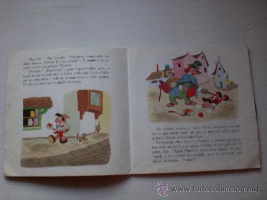 Discos de vinilo: cuentos la cenicienta y pinocho lote 2 disco con libro ilustrado 18 paginas año 1967 ver mas detall - Foto 3 - 29395038