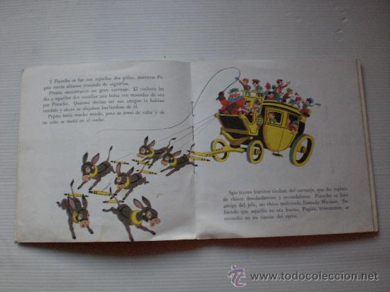 Discos de vinilo: cuentos la cenicienta y pinocho lote 2 disco con libro ilustrado 18 paginas año 1967 ver mas detall - Foto 4 - 29395038