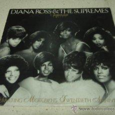 Discos de vinilo: DIANA ROSS & THE SUPREMES 'MOTOWN SUPERSTAR SERIES VOL.1' USA - 1980 LP33 MOTOWN RECORD. Lote 29395300