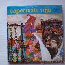 Discos de vinilo: CUENTO CAPERUCITA ROJA, TEATRO INFANTIL SAMANIEGO, 1970, EXCELENTE ESTADO. Lote 29395312