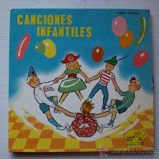 Discos de vinilo: CORO NIÑAS Y ORQUESTA, CANCIONES INFANTILES EP EMI 1983, NUEVO. Lote 29395330