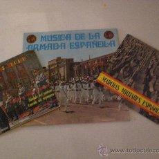 Discos de vinilo: LOTE DISCOS MARCHAS MILITARES AÑOS 60´ EN EXCELENTE ESTADO, VER DETALLES EN FOTOS OFERTA. Lote 29395678